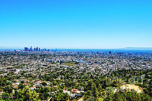 Julian Starks - LA from the Griffith Observatory