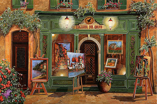La Galleria Del Corvo by Guido Borelli