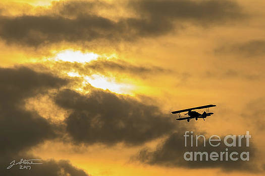La Jolla Biplane by Jeffrey Stone