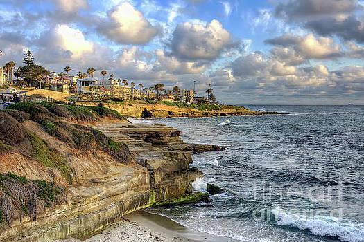 La Jolla Coastline by Eddie Yerkish