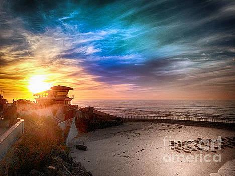 La Jolla Shores CA by John Castell