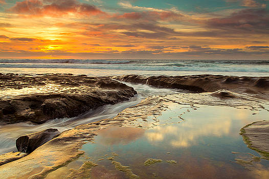 La Jolla Sunset by Jackie Novak