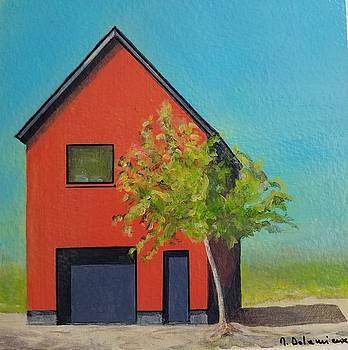 La Maison rouge by Muriel Dolemieux