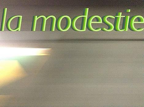 La Modestie Modesty by Contemporary Luxury Fine Art
