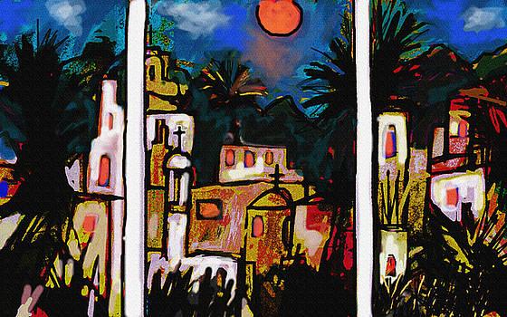 Paul Sutcliffe - La Noche del Tigre Triptych