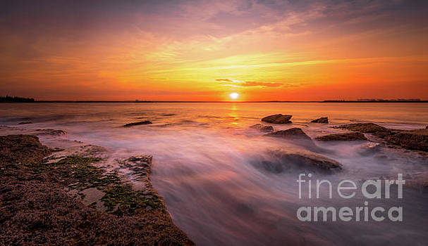 La Perouse Sunset by Helen Woodford