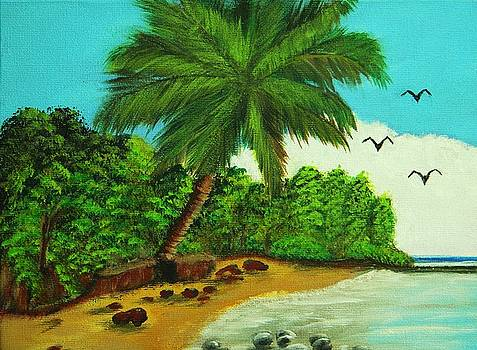 La Playa by Iris  Mora