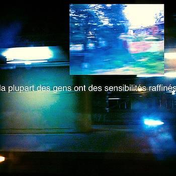 La Plupart Des Gens Ont Des SensibilitEs RaffinEs Most People Have Refined Sensibilities by Contemporary Luxury Fine Art