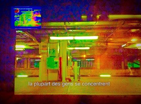 La Plupart Des Gens Se Concentrent Most People Are Focused  by Contemporary Luxury Fine Art