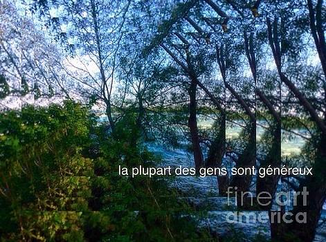 La Plupart Des Gens Sont Genereux / Most People Are Generous  by Contemporary Luxury Fine Art