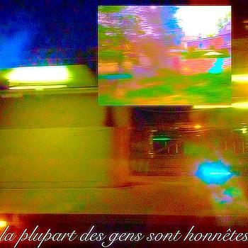 La Plupart Des Gens Sont HonnEtes Most People Are Honest by Contemporary Luxury Fine Art