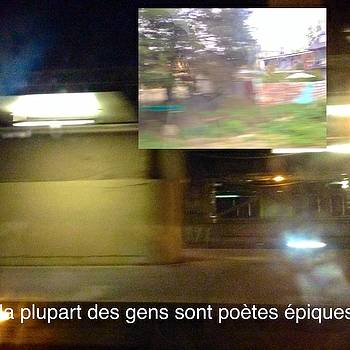 La Plupart Des Gens Sont PoEtes Epiques Most People Are Epic Poets by Contemporary Luxury Fine Art