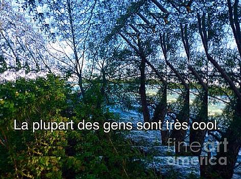 La plupart des gens sont tres cool / Most people are very cool by Contemporary Luxury Fine Art