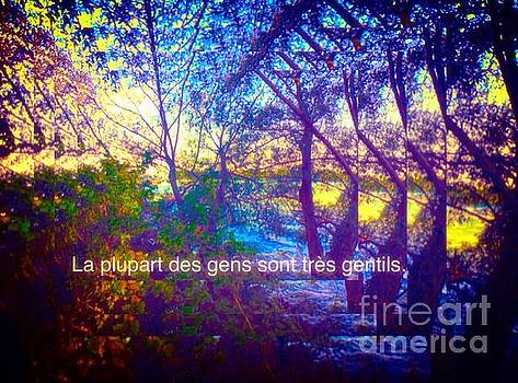 La plupart des gens sont tres gentils / Most people are very kind by Contemporary Luxury Fine Art