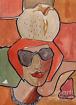 La Pomme by Marilyn Brooks