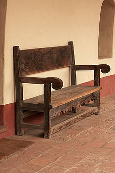 Art Block Collections - La Purisima Mission Bench