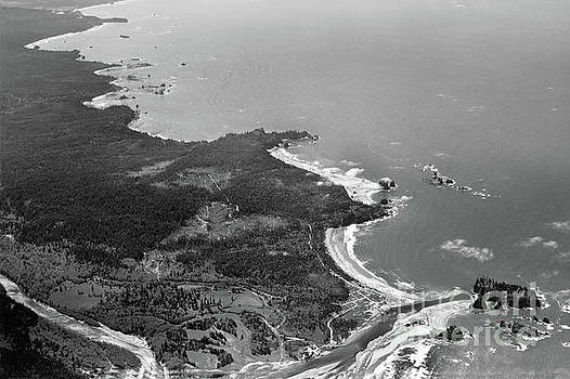 La Push, James Island, Quillayute River,  Washington Circa 1950 by California Views Mr Pat Hathaway Archives
