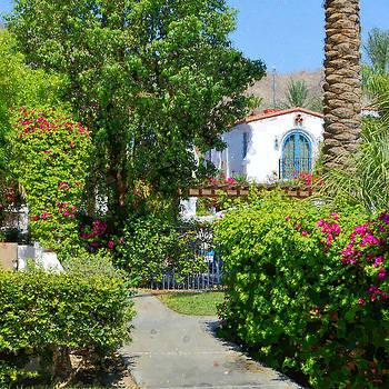 Glenn McCarthy Art and Photography - La Quinta Resort Walkway Impressions - One