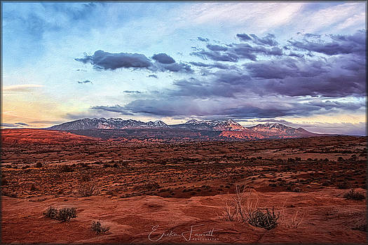 Erika Fawcett - La Sal Mountain sunset