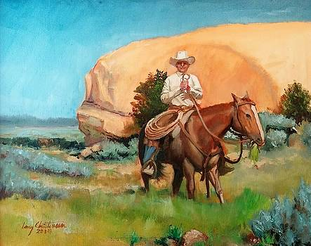 La Sal Roundup by Larry Christensen
