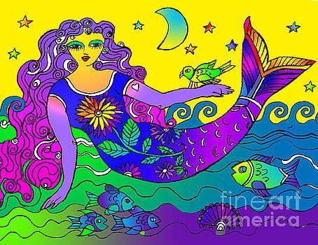La Sirena Morado by Lydia L Kramer