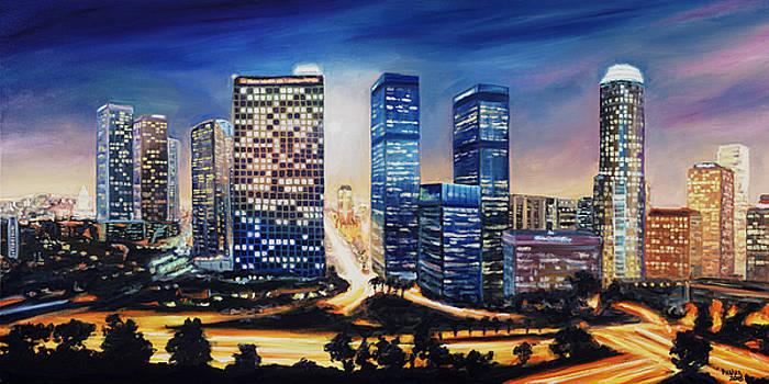 LA Skyline by Patrick Parker