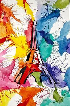 La Tour Eiffel by Tiffany Lynn Thielke