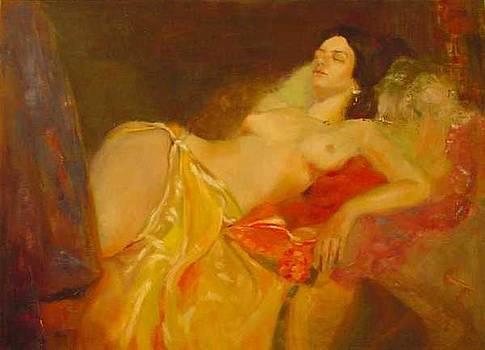 La Traviata Resting by Irena  Jablonski