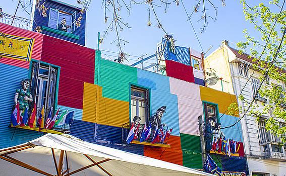 Venetia Featherstone-Witty - La Vida en La Boca, Buenos Aires