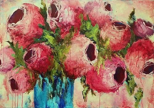 La Vie en Rose I by Liesbeth Verboven