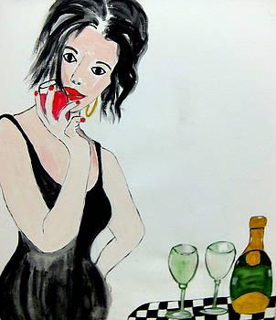 La vie est belle by Rusty Woodward Gladdish
