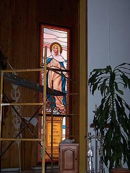 La Virgen Milagrosa by Justyna Pastuszka