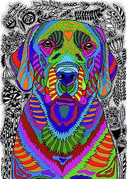 Labrador Retriever by ZileArt