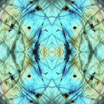 Labradorite Tile by Rich Beer