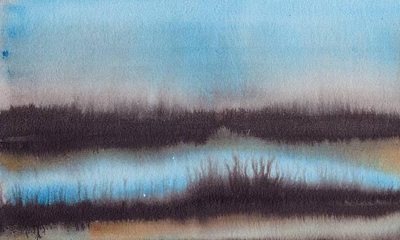 Lac au soir by Marc Philippe Joly