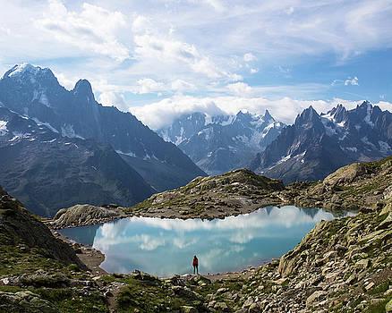Lac Blanc by Aaron Hagen