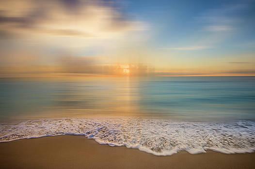 Debra and Dave Vanderlaan - Lace Edged Turquoise Sea Dreamscape