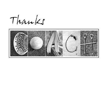 Lacrosee Coach Alphabet Art by Kathy Stanczak
