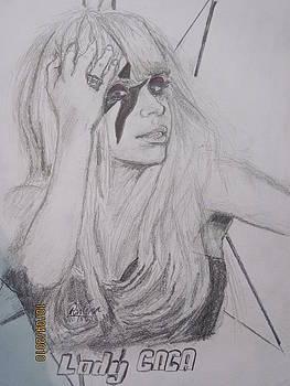 Laddy Gaga by Rin Oma