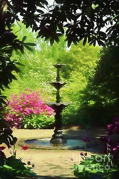 Ladew Fountain by Marilyn Cornwell