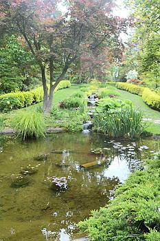 Ladew Gardens-Pond by Judith Morris