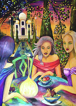 Patricia Lazaro -  Ladies at Taj Mahal