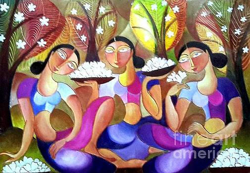 Ladies In The Jungle by Ceylon Art Gallery