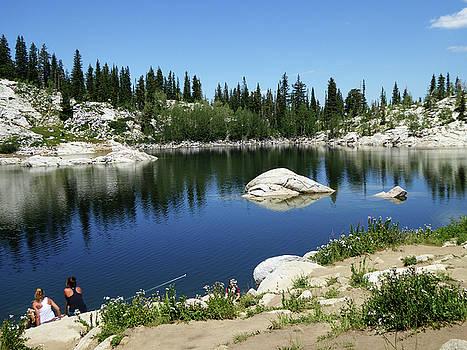 Ladies of the Lake Fishing by Alan Socolik