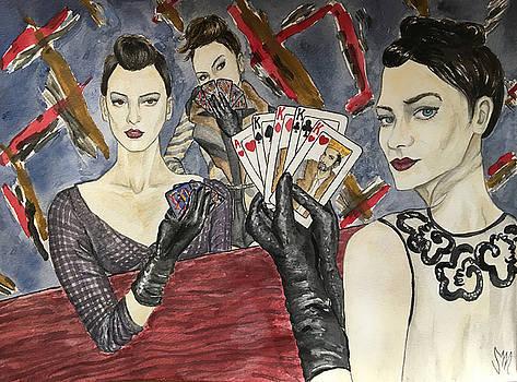 Ladies' Poker Parlor by Sabina Mollot