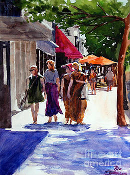 Ladies That Shop by Ron Stephens
