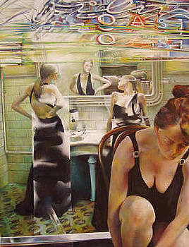 Ladies Toilette by Luigi Boriotti