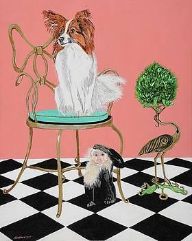 Lady and the Monkey by Pamela Trueblood