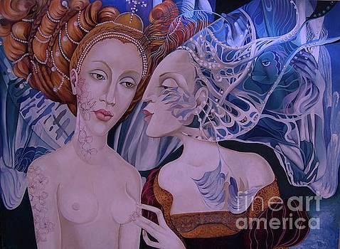 Lady Autumn and Lady Winter by Tatyana Binovska