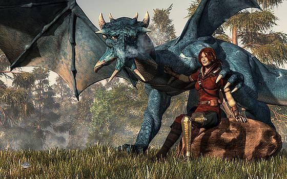 Daniel Eskridge - Lady Blue Dragon